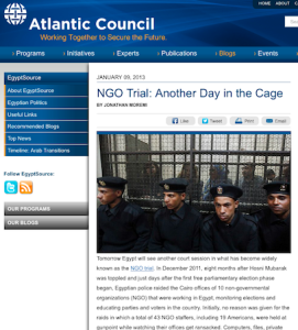 NGO Trial - Another Day in the Cage